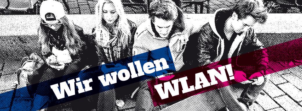 Wir wollen WLAN!